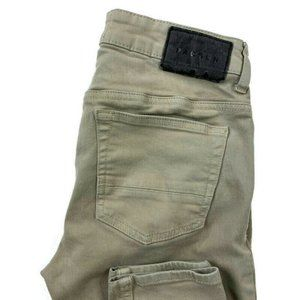 Pacsun  Stacked Skinny Beige Active Stretch Jeans